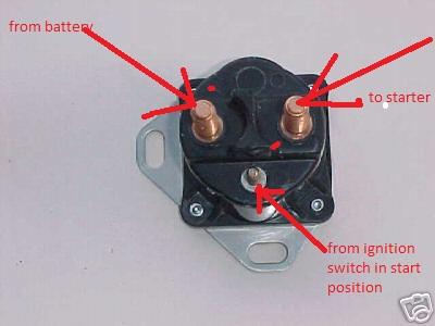 3 Post Starter Solenoid Wiring Diagram | Wiring Diagram Yamaha Starter Solenoid Wiring on
