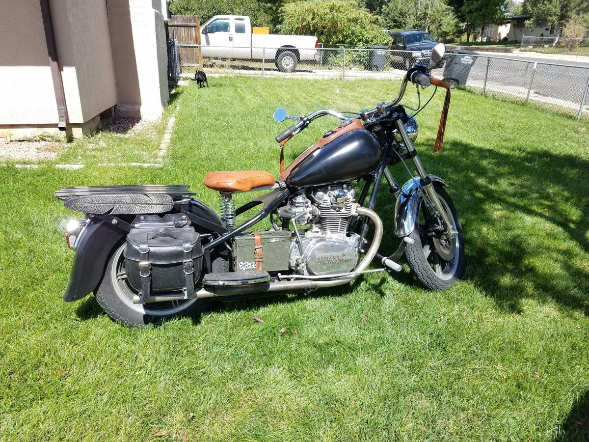 For Sale - - 1980 Custom Bobber XS650 + Frame Jig | Yamaha XS650 Forum