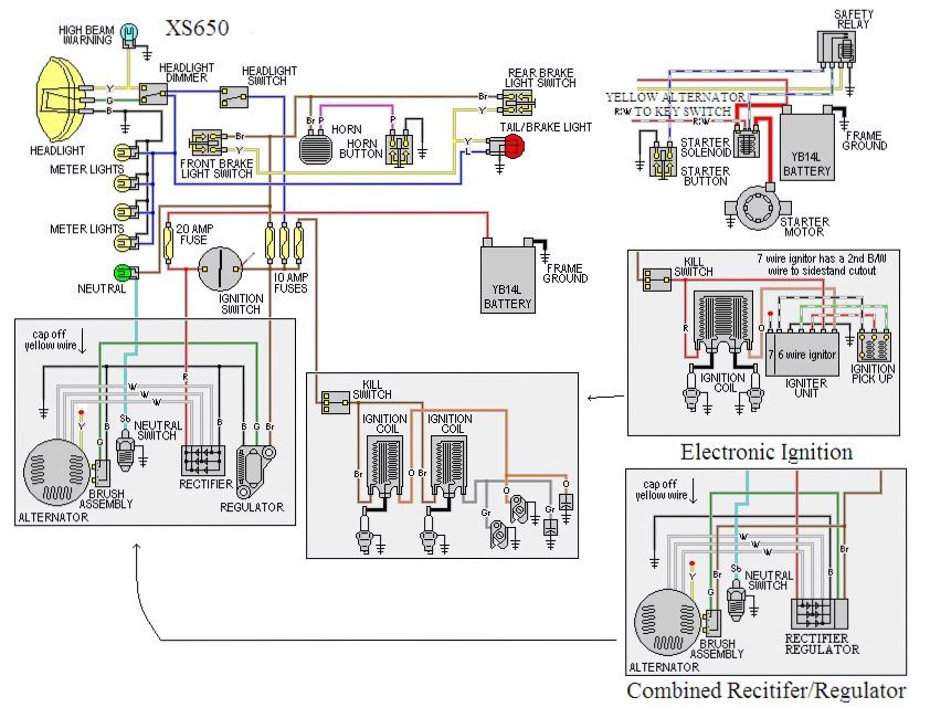bike won't shut off yamaha xs650 forum centech ap-2 wiring diagram at bayanpartner.co