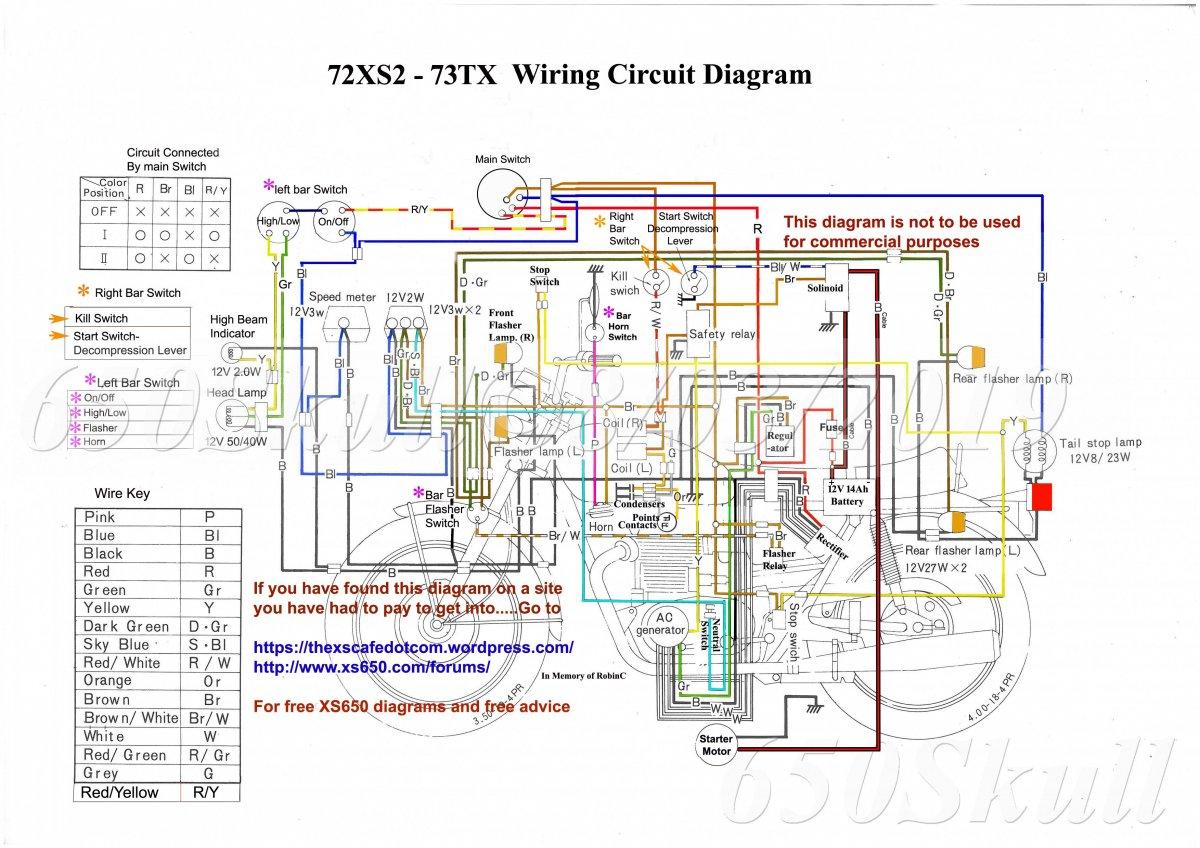 72xs2  73tx Wiring Diagram