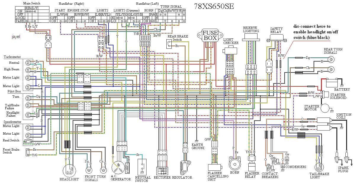 Astounding Some Wiring Diagrams Yamaha Xs650 Forum Wiring Digital Resources Instshebarightsorg