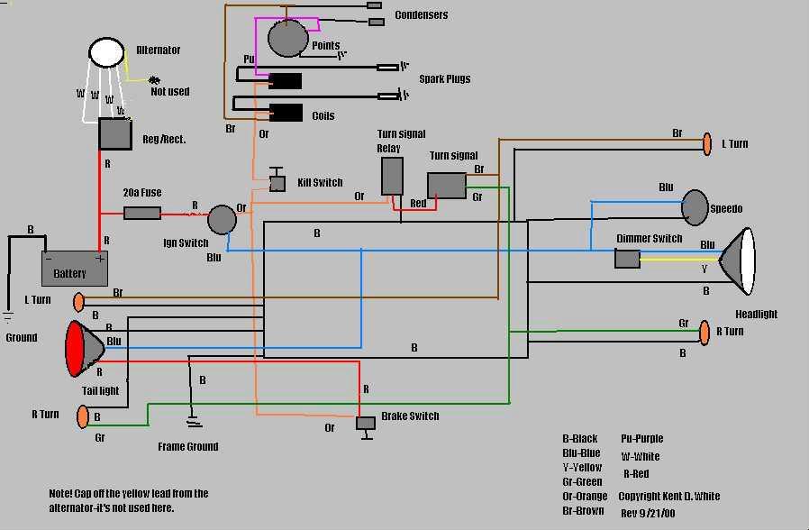 help turn signal wiring yamaha xs650 forum 79pointsschematic jpg