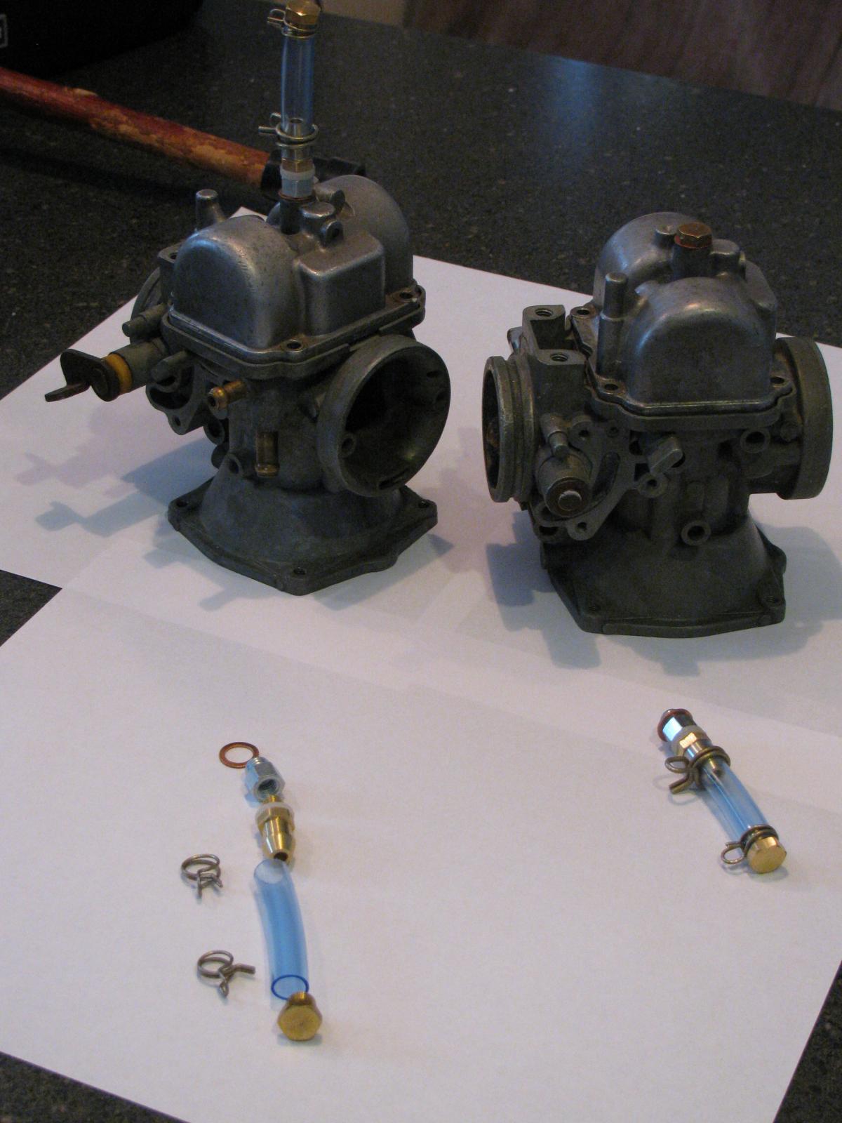 Carburetor Drain Kit Water Trap