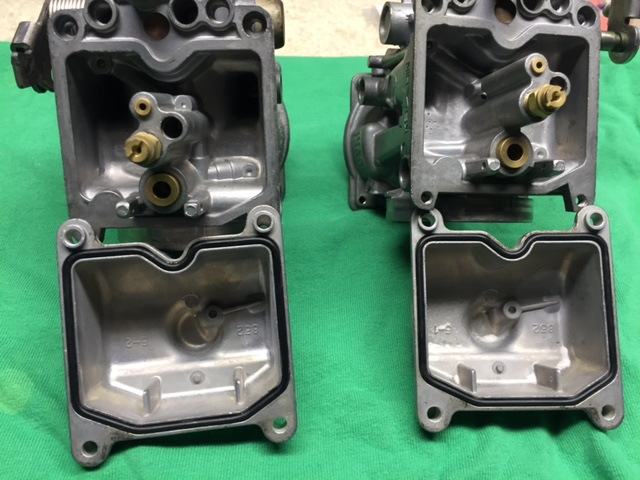 For Sale - - refurbed Kaw EX500 KEIHIN CVK34 carbset | Yamaha XS650