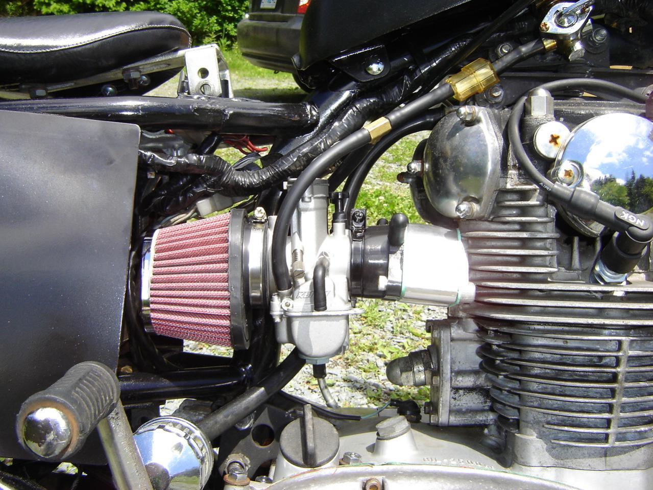 Fuel in oil   Yamaha XS650 Forum