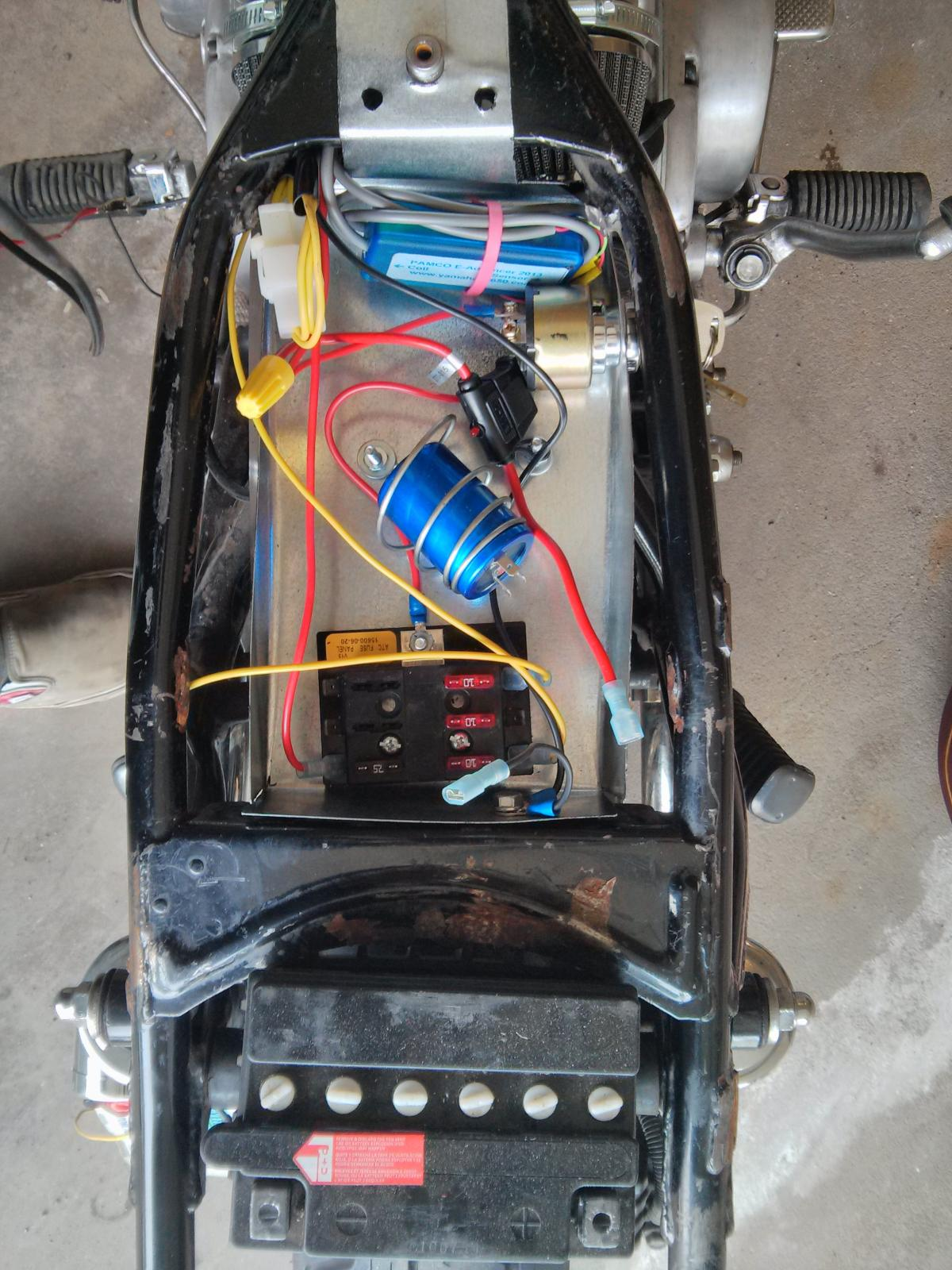 Kickstart Only Wiring Diagram 29 Images Kick Start And A Diargam For Dummies Yamaha Xs650 Forum