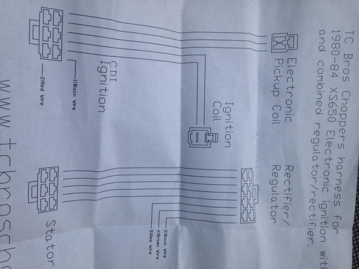Pleasing Mikes Xs Simplified Wiring Harness Help Yamaha Xs650 Forum Wiring Database Gramgelartorg