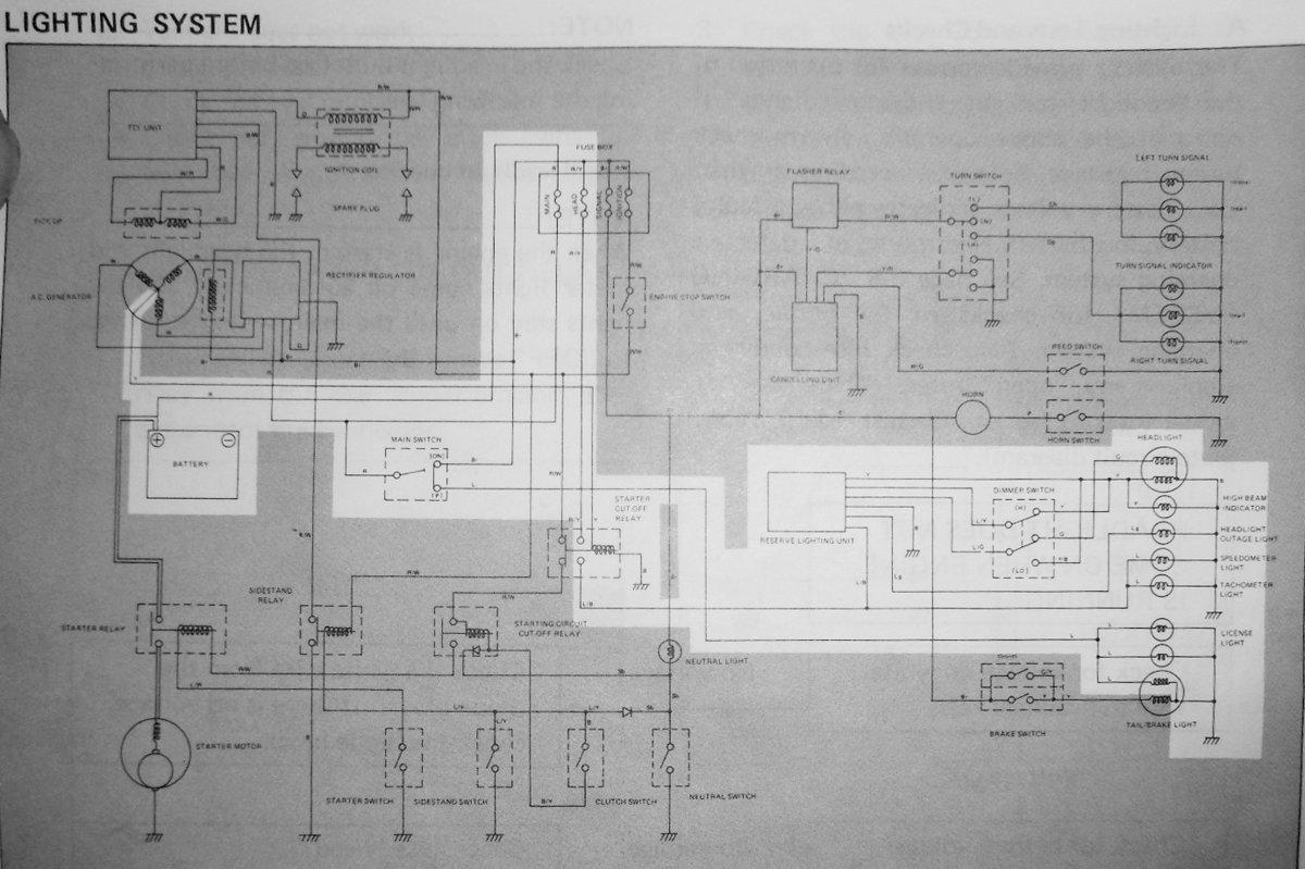Reserve Lighting Unit Schematic - Free Download Wiring Diagram