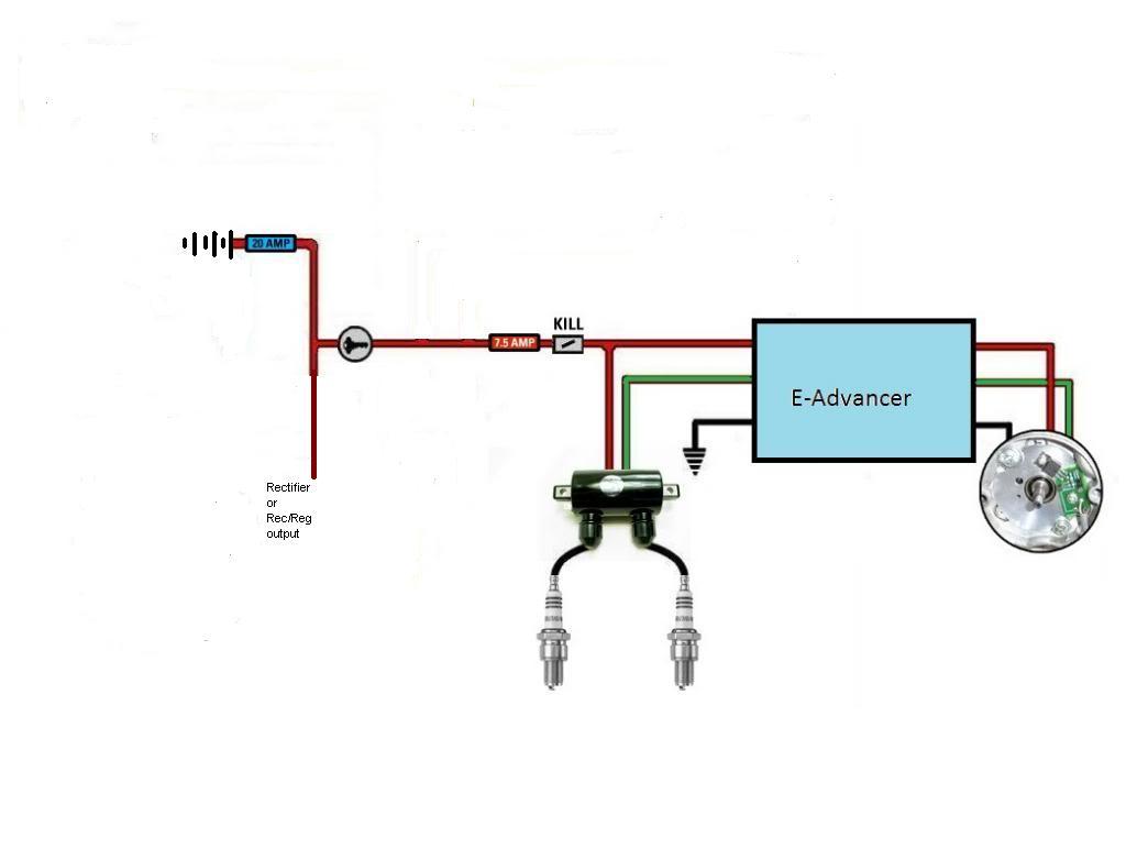 Xs650 Pamco Ignition Wiring Diagram    Wiring Diagram