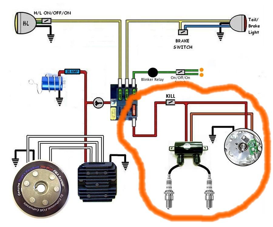 Tips on findinf a SHORT | Yamaha XS650 Forum Xs Headlight Bucket Wiring Diagram on