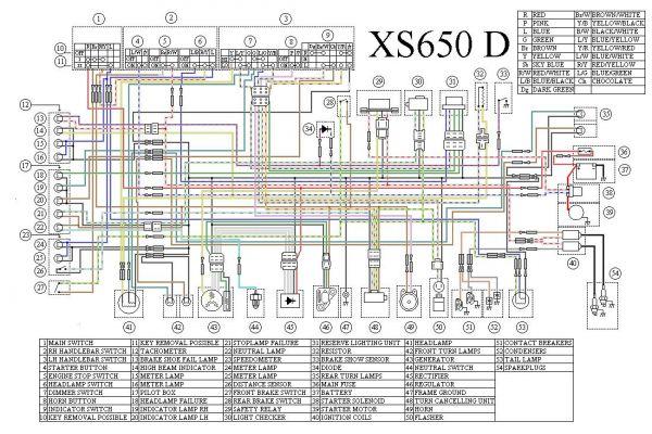 tx650 xs650d cross breed connector question yamaha xs650 forum rh xs650 com