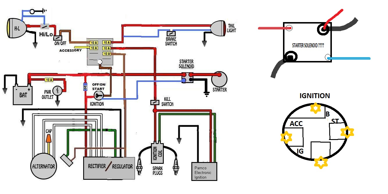 Rz350 Wiring Diagram Great Design Of Solenoid Switch Hilo Series And Parallel Circuits Diagrams 3 Way Yamaha