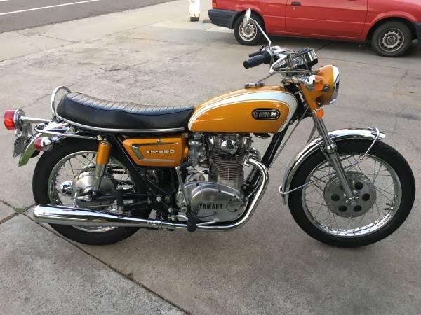 For Sale - - Craigslist: 1971 Yamaha XS 650 - $5500 (Sacramento