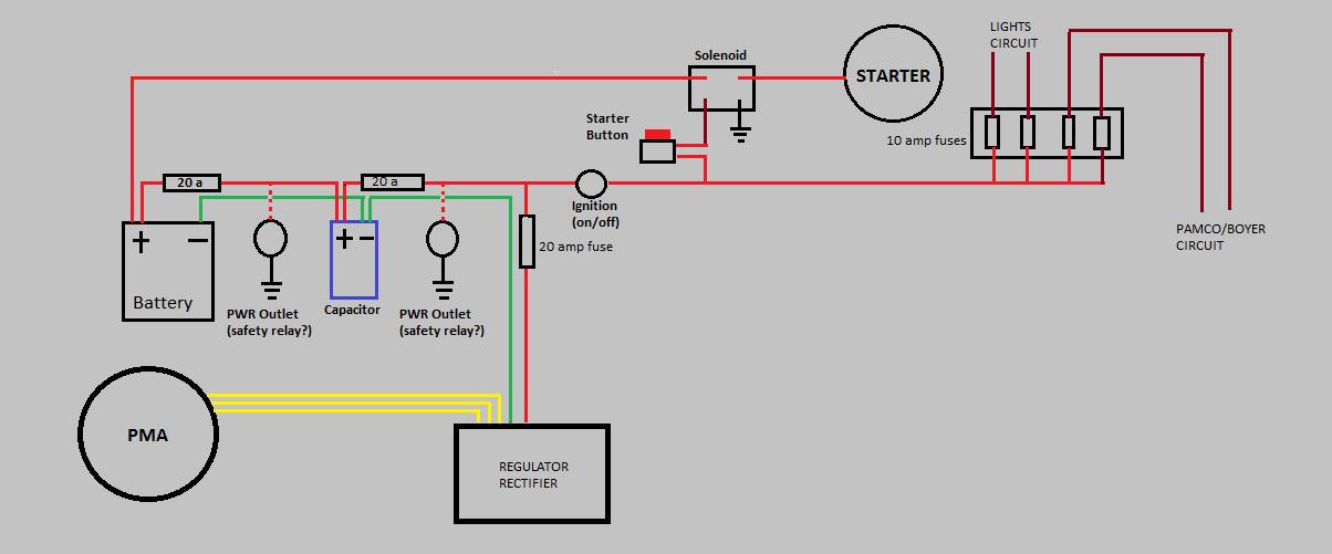 xs360 wiring diagram auto electrical wiring diagram u2022 rh focusnews co  yamaha xs360 wiring diagram