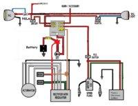 1979 xs650 custom wiring yamaha xs650 forum rh xs650 com 1979 yamaha xs650 wiring diagram 1978 Yamaha XS650 Wiring-Diagram