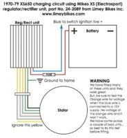 79 xs650 wiring diagram needed    wire       diagram    for mikes xs solid state rectifier  needed    wire       diagram    for mikes xs solid state rectifier