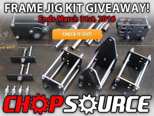 Chop Source motorcycle frame jig giveaway - xs650.com