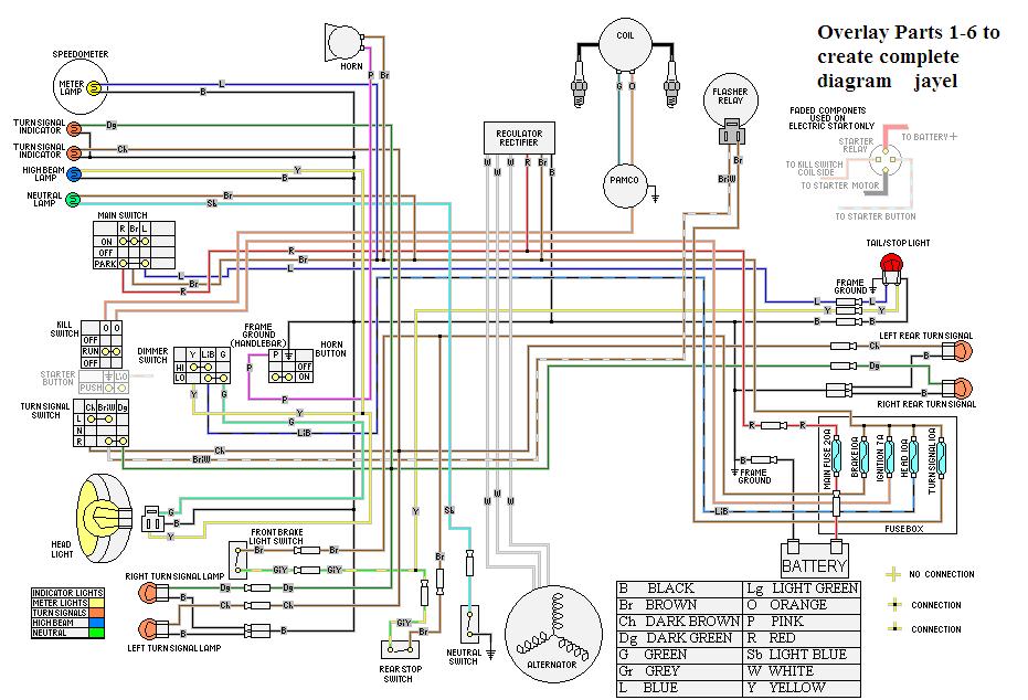 1981 yamaha xs400 wiring diagram 1981 kawasaki kz440 wiring diagram wiring diagram   elsalvadorla KZ1000 B4 Right Switch Wiring KZ1000 B4 Right Switch Wiring